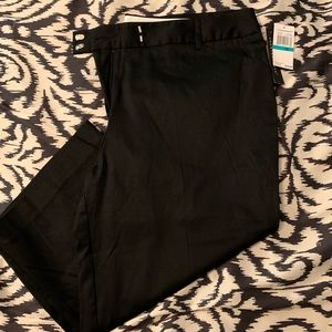 NWT Counterparts Black Capri pants